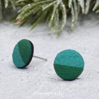 M157a_Unikatni-nakit-uhaniMINI-myunikat-TjasaVodeb-zelena