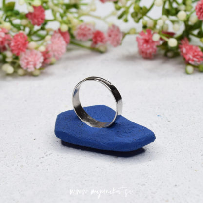 P261-GEOMETRIC-unikaten-prstan-myunikat-tjasavodeb-fimomasa-mini-jeans-modra