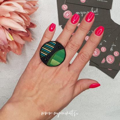 P273_Unikatni-prstan-myunikat-zelena-crna