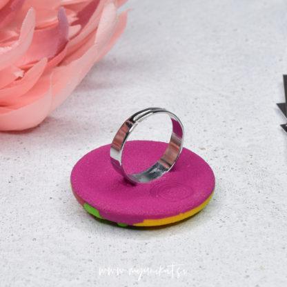 P401-Unikatni-prstan-Myunikat-roza-zelen-rumen