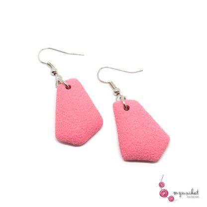 Rocno-izdelani-viseci-unikatni-uhani-Myunikat-fimo-roza