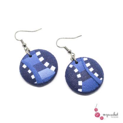 Rocno-izdelani-viseci-unikatni-uhani-Myunikat-fimo-modra