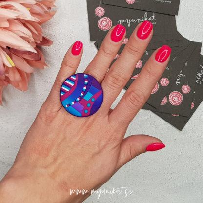 P329-Unikatni-prstan-Myunikat-viola-tukizna-roza