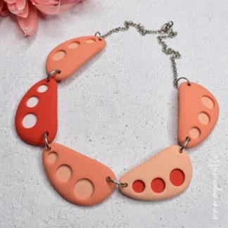 V764-Unikatna-verizica-unikatni-nakit-myunikat-kolekicija-summer-dots-korala-pastelno-oranzna