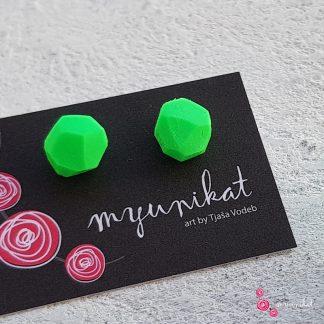 M298a_Uhani-MINI-Myunikat-TjasaVodeb-neon-zelena-diamond