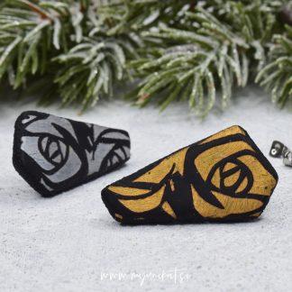 U288a-Unikatni-nakit-uhani-myunikat-TjasaVodeb-roses-crna-srebrna-zlata
