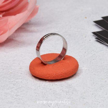 rocno-izdelan-unikatni-prstan-Myunikat_TjasaVodeb-fimo-abstrakt