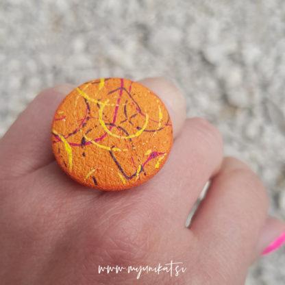P474-rocno-izdelan-unikatni-prstan-Myunikat_TjasaVodeb-fimo-abstrakt