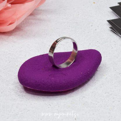 rocno-izdelan-unikatni-prstan-Myunikat_TjasaVodeb-fimo-roza-abstrakt