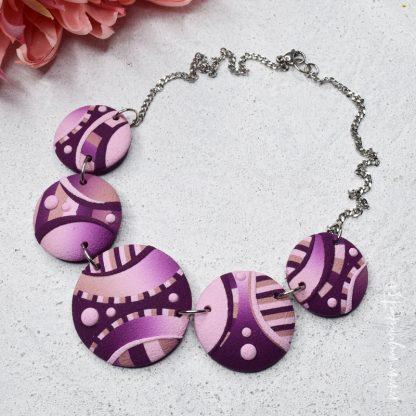 rocno-izdelana-unikatna-verizica-unikatni-nakit-myunikat-roza-viola