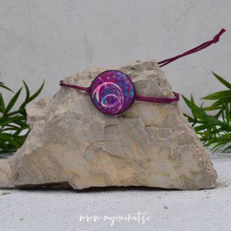 Z03-unikatna-zapestnica-myunikat-abstrakt-modra-roza