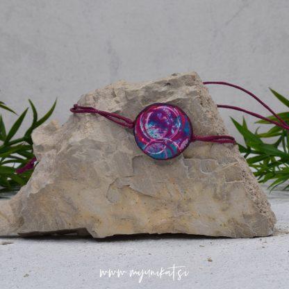 Z04-unikatna-zapestnica-myunikat-abstrakt-modra-roza