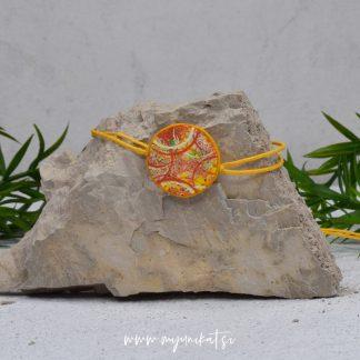 Z08-unikatna-zapestnica-myunikat-abstrakt-rumena-oranzna