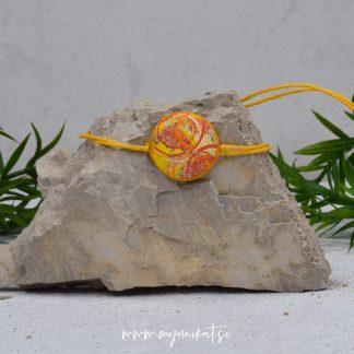 Z12-unikatna-zapestnica-myunikat-abstrakt-rumena-oranzna