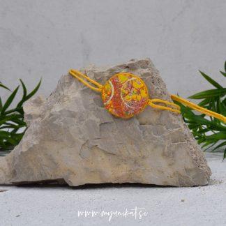 Z13-unikatna-zapestnica-myunikat-abstrakt-rumena-oranzna