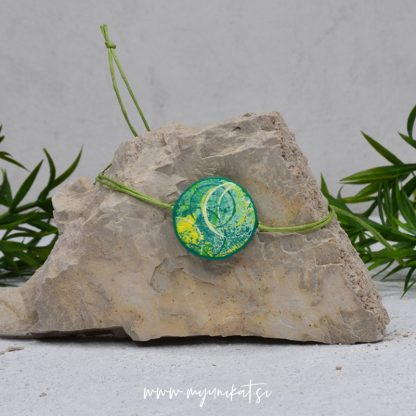 Z21-unikatna-zapestnica-myunikat-abstrakt-zelena-rumena