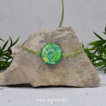 Z24-unikatna-zapestnica-myunikat-abstrakt-zelena-rumena
