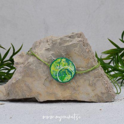 Z25-unikatna-zapestnica-myunikat-abstrakt-zelena-rumena