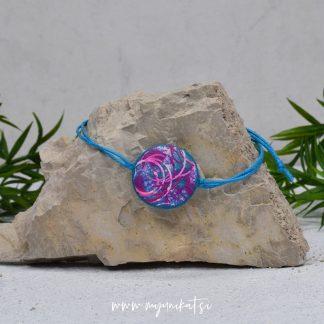 Z28-unikatna-zapestnica-myunikat-abstrakt-modra-roza