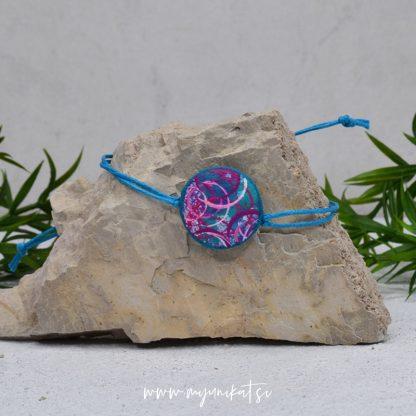 Z29-unikatna-zapestnica-myunikat-abstrakt-modra-roza