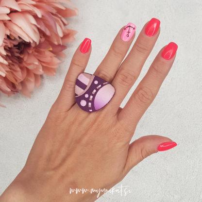 P493_rocno-izdelan-unikatni-prstan-Myunikat_TjasaVodeb-fimo-viola-roza