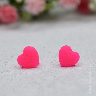 M374-MINI-MINI-unikatni-uhani-srcek-nakit-Myunikat-TjasaVodeb-neon-roza