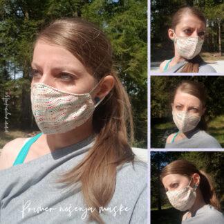 Bombažne pralne maske