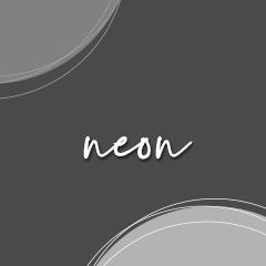 MINI uhani ~ NEON